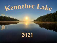 Kennebec Lake 2021 Calendar